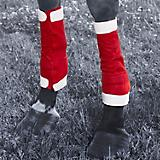 Holiday Santa 4 Piece Leg Wraps