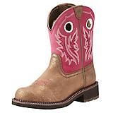 Ariat Ladies Fatbaby Heritage Metallic Boots 7