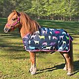 Shires Mini Highlander Lite Turnout Cowprint
