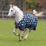 Shires Tempest Original Lite Turnout Cowprint