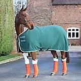 Shires Tempest Fleece Rug 84 Teal/Orange/Gray