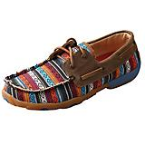 Twisted X Ladies Serape/Bomber Driving Mocs