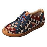 Twisted X Ladies Hooey Pattern Canvas Shoes