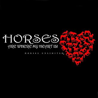 Horses Are Where My Heart Is Hoodie