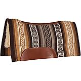 Mustang Tierra Navajo Contoured Wool Top Pad Brown
