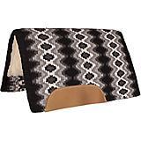 Mustang Mohair Woven Navajo Blanket Top Pad Black