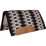 Mustang Mohair Navajo Blanket Wool Bottom Pad Blk