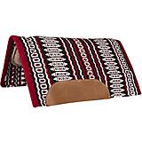 Mustang Canyon Navajo Blanket Top Wool Pad Red/Blk