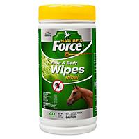 Free Manna Pro Natures Force Face and Body Wipes   included free with purchase