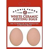 Harris Farms Ceramic Nesting Eggs White