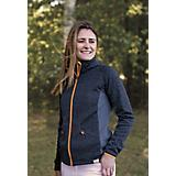 Shires Aubrion Pompano Fleece Hoodie S  Charcoal