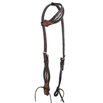 Oxbow Tack Navajo Slip Ear Headstall