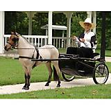 Ozark Mini/Pony Show Harness Mini Black/Chrome
