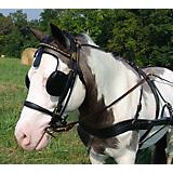 Millers Harness V Breast Collar Pony