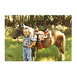 10in Leather Western Saddle