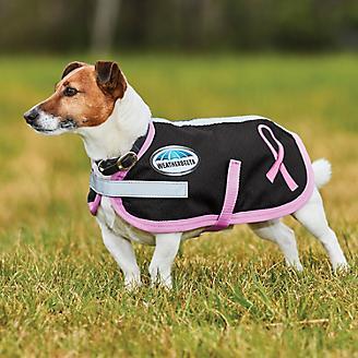 WeatherBeeta 1200D Dog Parka Breast Cancer