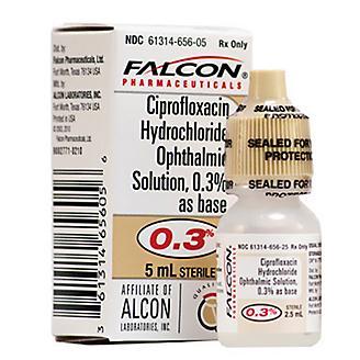 Ciprofloxacin Ophthalmic Solution 0.3 percent 5 ml