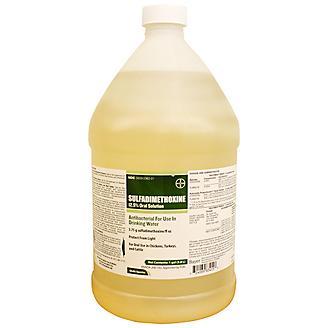 Sulfadimethoxine 12.5% Oral SolutionGal