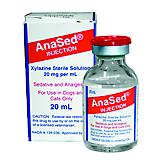 ANA-SED (XYLAZINE) 20MG INJECTION