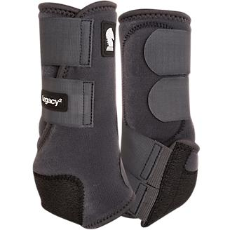 Classic Equine TEAL LEGACY2 SYSTEM Front Hind Value 4 Pack Medium M Sport Boots
