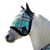 Kensington Mini Fleece Plaid Fly Mask w/Ears