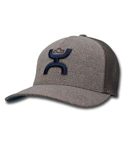 new concept 27245 a41f1 Hooey Coach Brown Flexfit Hat
