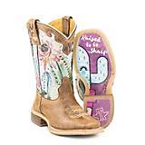 Tin Haul Kids Cactus Sole Boots