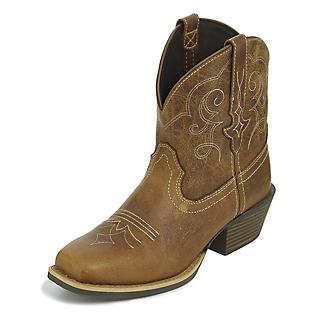 Justin Ladies Gypsy Sq Toe Chellie Tan Boots