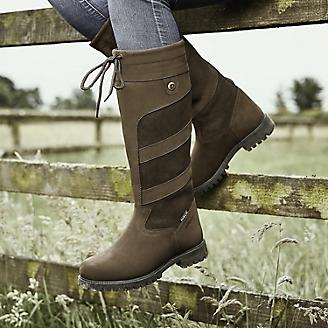 Dublin Ladies Kennet Chocolate Boots 6