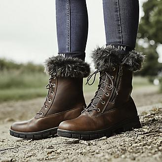 Dublin Ladies Bourne Red/Brown Boots