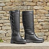 Dublin Ladies Pinnacle Grain Boots 9  Black