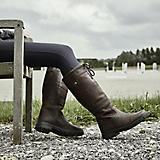 Dublin Ladies River Grain Boots 8.5 Red Brown