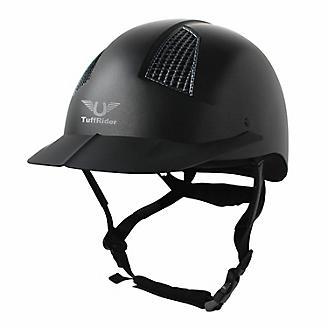 TuffRider Starter Carbon Fiber Grill Helmet