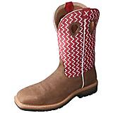 Twisted X Mens Lite Cowboy Cherry Work Boot