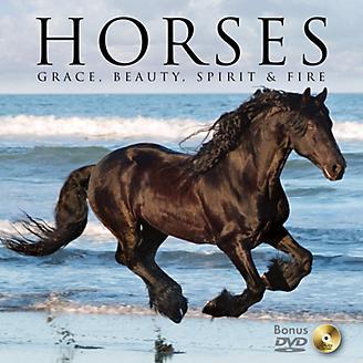 Horses - Grace Beauty Spirit and Fire Book w/DVD
