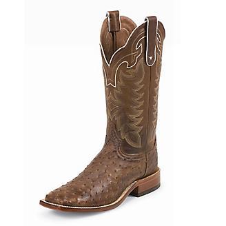 Tony Lama Mens Hays Square Toe Choc Boots