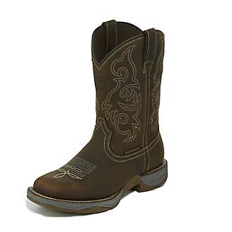 Tony Lama Mens Junction WP Square Toe Boots