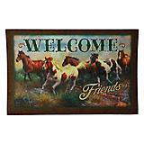Welcome Horse Door Mat