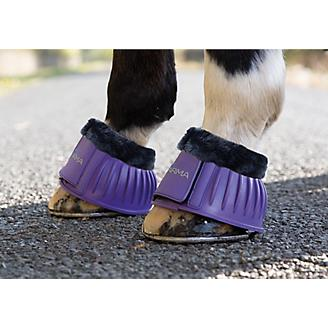 Shires ARMA Fleece Trim Bell Boots