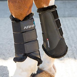 Shires ARMA Fur Lined Brushing Boots
