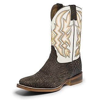 Nocona Mens Deputy Square Toe Choc Boots