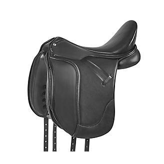 Collegiate Esteem Black Dressage Saddle
