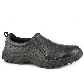Roper Mens Cotter Black Slip On Shoes