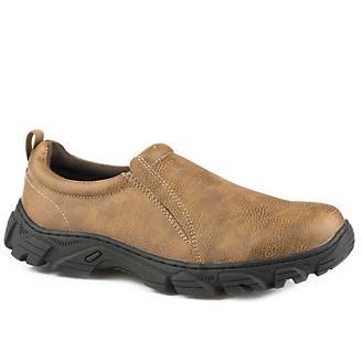 Roper Mens Cotter Tan Slip On Shoes
