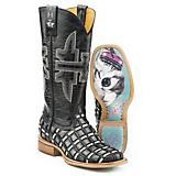 Tin Haul Ladies Checkered Past Boots 9.5