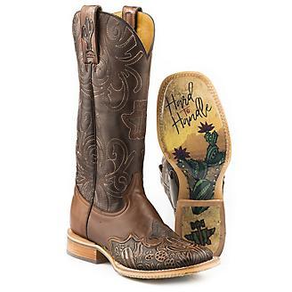 Tin Haul Ladies Cactooled Boots