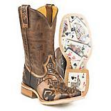 Tin Haul Mens The Gambler Boots