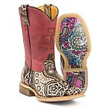 Tin Haul Kids Paisley Rocks Boots