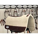 Oxbow Tack LUXE 1in Pressed Wool Saddle Pad
