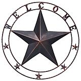 Tough-1 Large Welcome Star With Glitter Finish